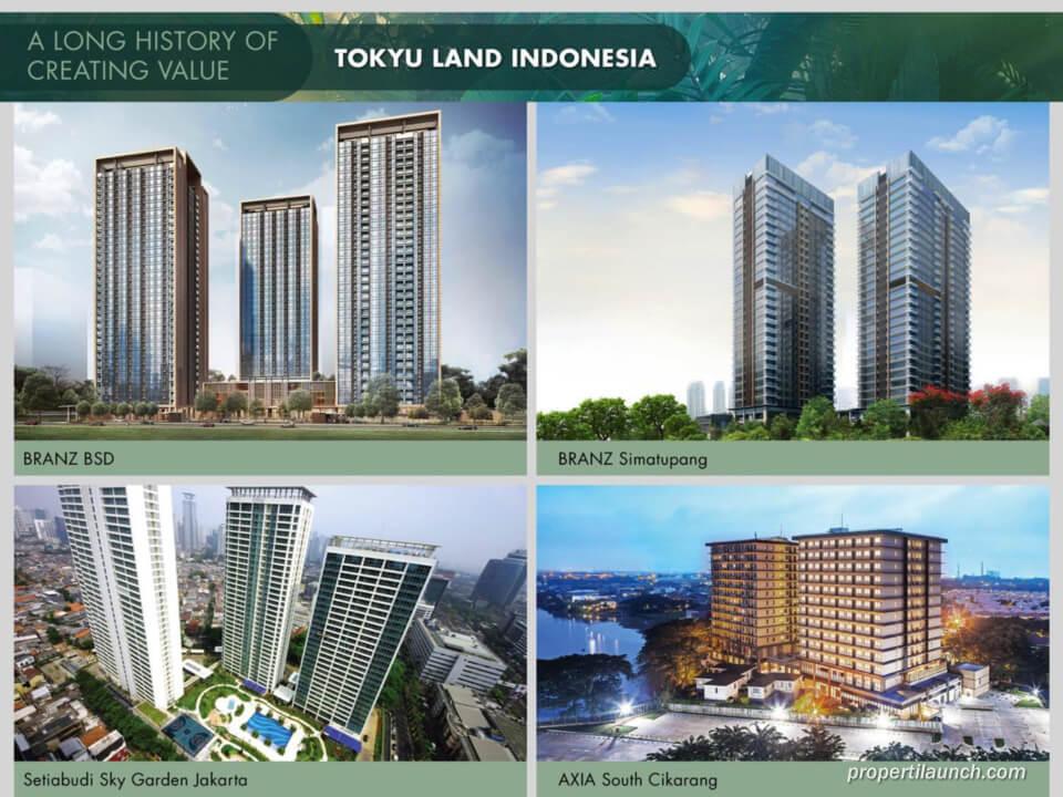 Proyek Apartemen Tokyo Land Indonesia