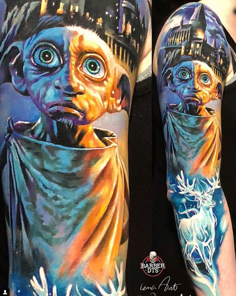 Harry Potter Tattoos - Doby