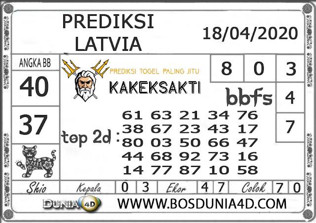 Prediksi Togel LATVIA DUNIA4D 18 APRIL 2020