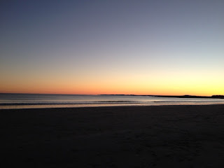 Sunset at Kennebunk Beach