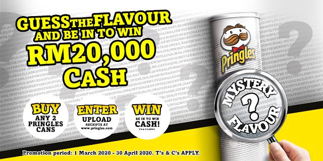 Teka Perisa Misteri Kerepek Pringles untuk Hadiah Tunai RM20,000!