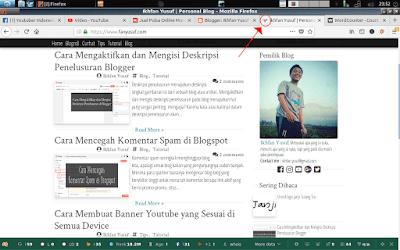 Cara Mengubah Favicon Blogger Tanpa Ribet
