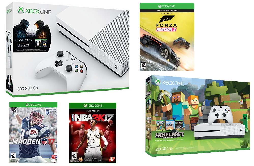 hot xbox one s deals for amazon prime members get 20 off free game with any console purchase. Black Bedroom Furniture Sets. Home Design Ideas