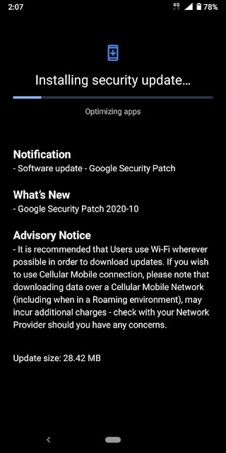 Nokia 7 Plus receiving October 2020 Android Security patch