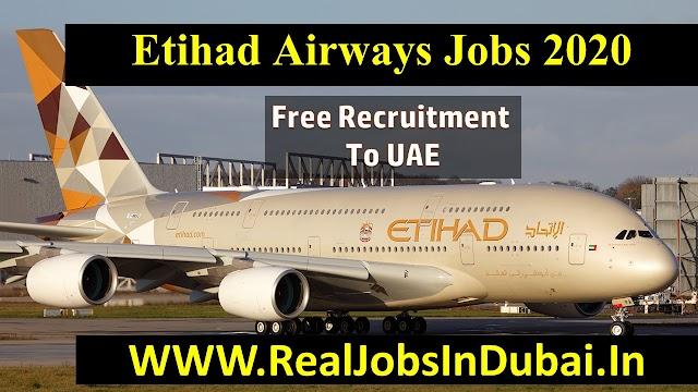 Etihad Airways Careers In UAE 2020