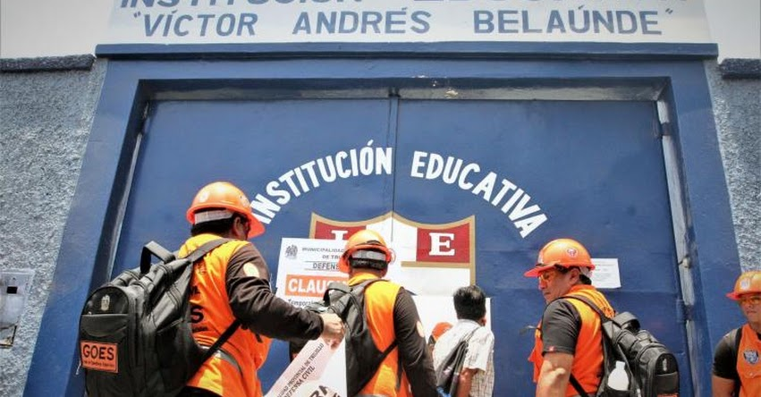 GRE La Libertad pide a comuna de Trujillo abrir colegios clausurados pese a tener irregularidades