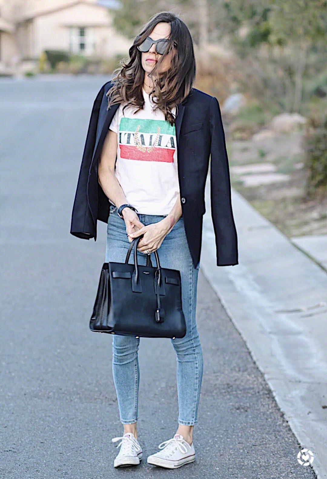 italia tee outfit