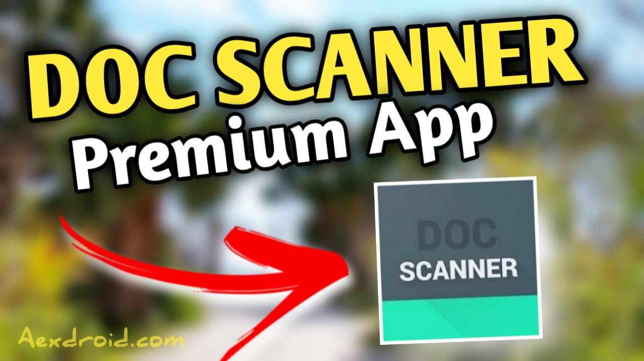 Document scanner app - Doc Scanner Mod