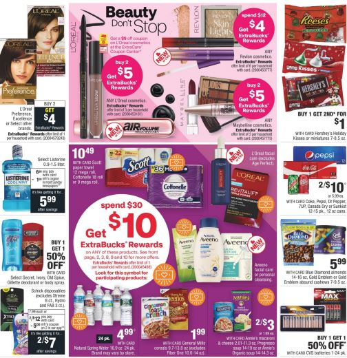 CVS Weekly Ad Preview 10/25-10/31