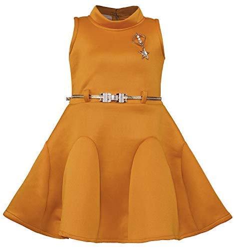 Wish Karo Baby Girls Frock Birthday Dress for Girls - Scuba - (fe2438)