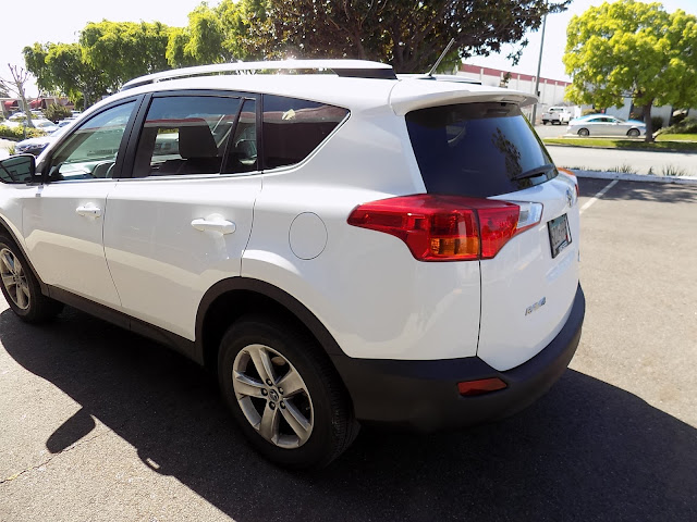 2015 RAV4 after having quarter panel replaced at Almost Everything Auto Body.