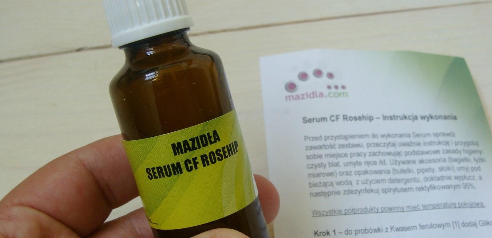 Zrób sobie serum antyoksydacyjne