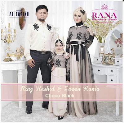 Model Baju Muslim Seragam Family Modern Terbaru