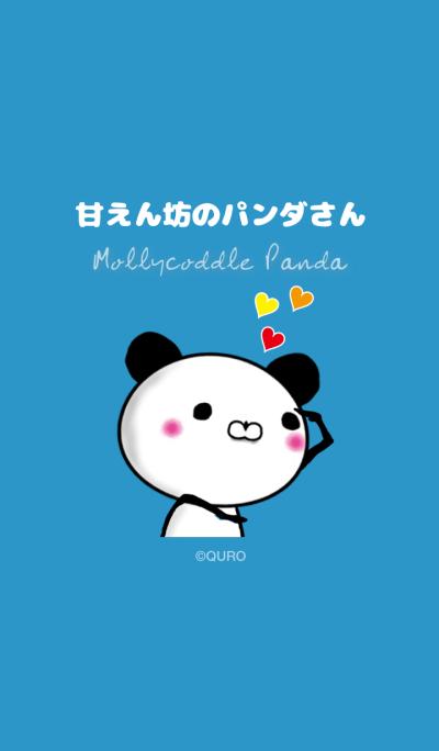Mollycoddle Panda (Blue)