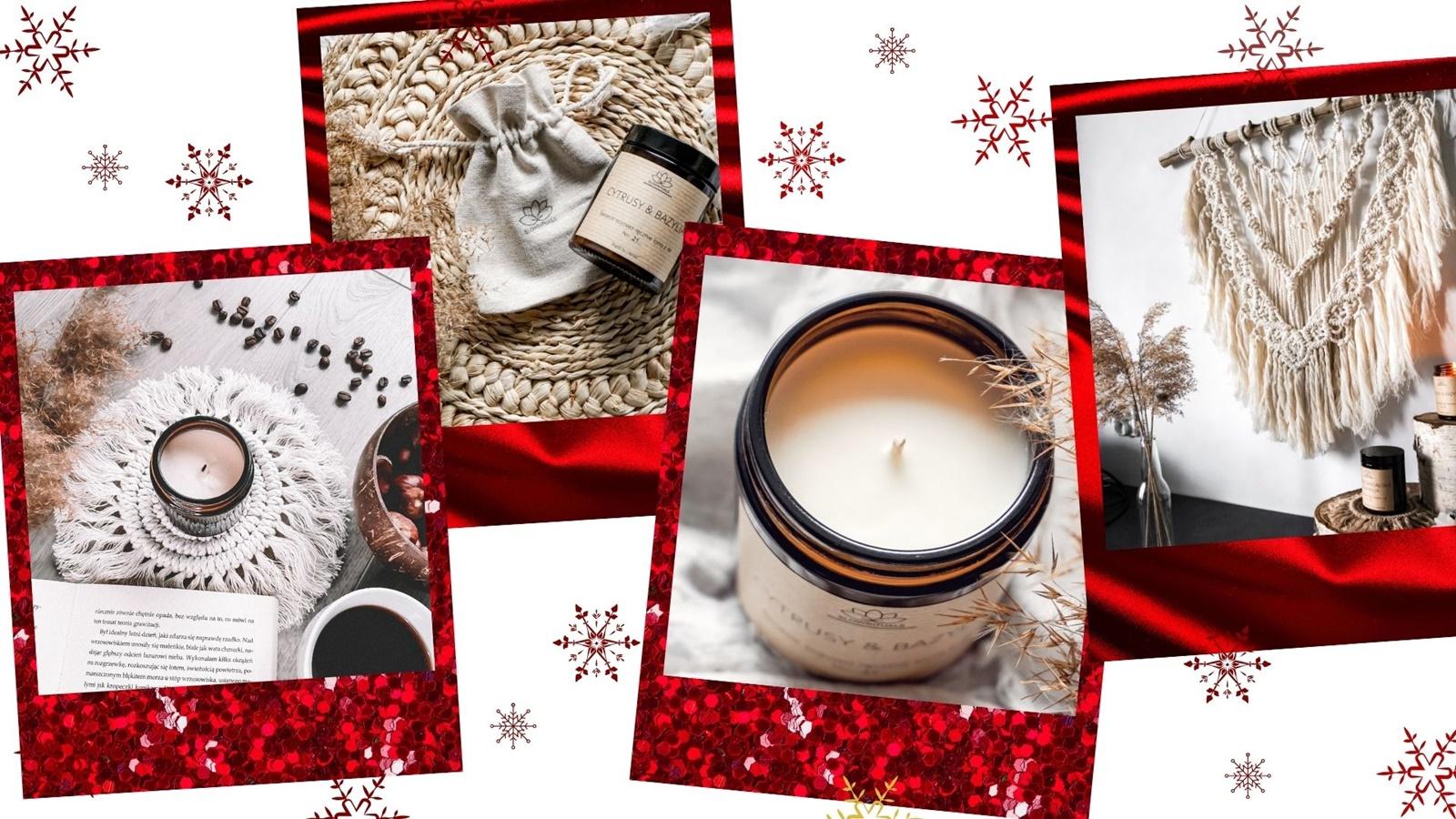 makarmy świece diy handmade pomysł na prezent z okazji swiat bozego narodzenia tani niebanalny za grosze ładny boho dla kobiety