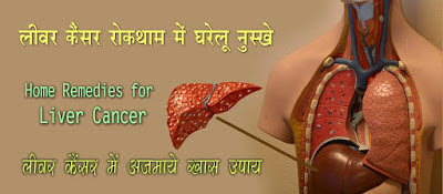 लिवर कैंसर में घरेलू नुस्खे , Home Remedies for Liver Cancer in Hindi, liver cancer gharelu ilaj, लीवर कैंसर के घरेलू उपचार, Alternative Therapies for Liver Cancer, liver cancer home remedies, Herbal Remedy for Liver Cancer,