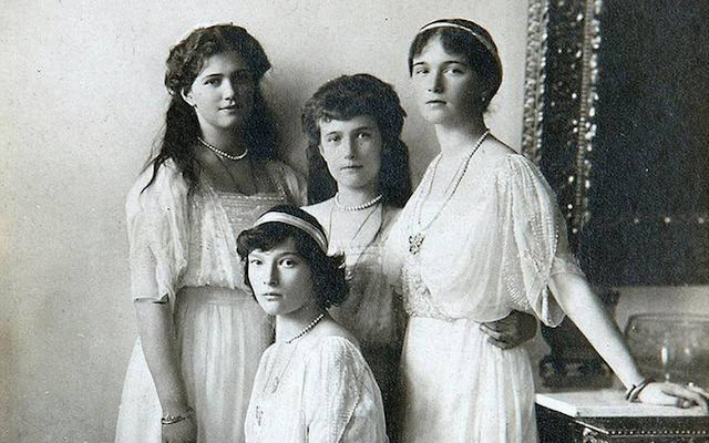 biografías_libros_hermanas romanov_familia de Nicolás II_rusia