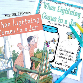 When Lightning Comes in a Jar, by Patricia Polacco, is a wonderful book for the beginning of the school year.  The story about a family reunion is the perfect way to begin student stories about their families.