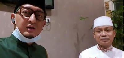 Ust Zacky Mirza berkunjung K.H Das'ad Latif