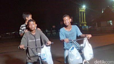 Kangen Ibu, 3 Bocah Nekat Gowes Sepeda dari Palembang ke Tangerang