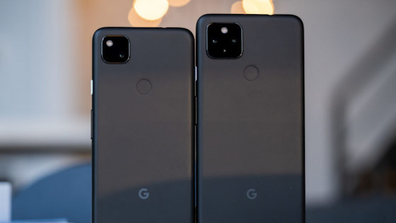 هاتف Google Pixel 4a و 4a 5G - الفئة متوسطة