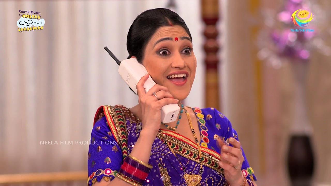 Disha Vakani in Phone