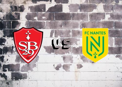 Brest vs Nantes  Resumen