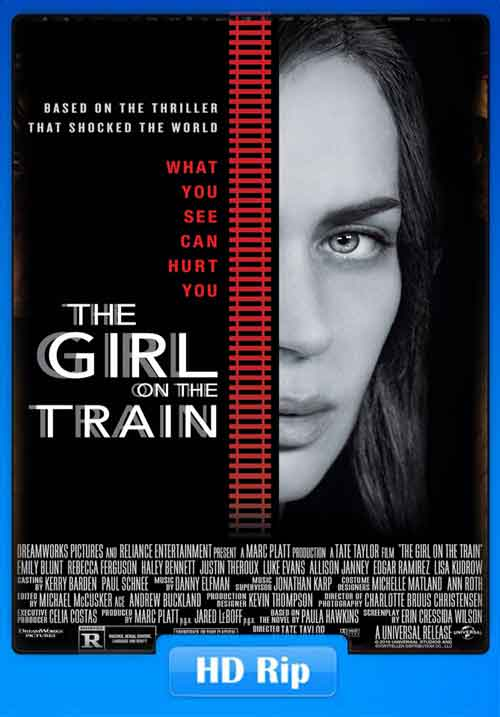 The Girl on the Train 2016 Poster