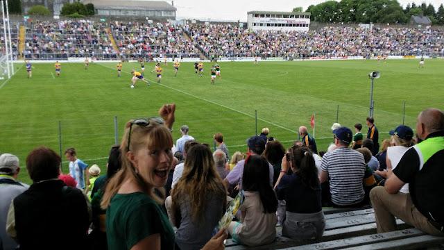 GAA, Kerry, Clare, Gaelic football, stadium, vihreän saaren emäntä