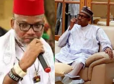 """I repeat, the man in Aso-Rock is not Buhari"" - Nnamdi Kanu releases another explosive proof"