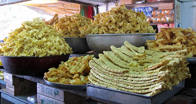 Street food from Gujarat fafda
