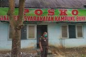 Warga Kampung Bukit Indah Rohul Dirikan Posko Siaga