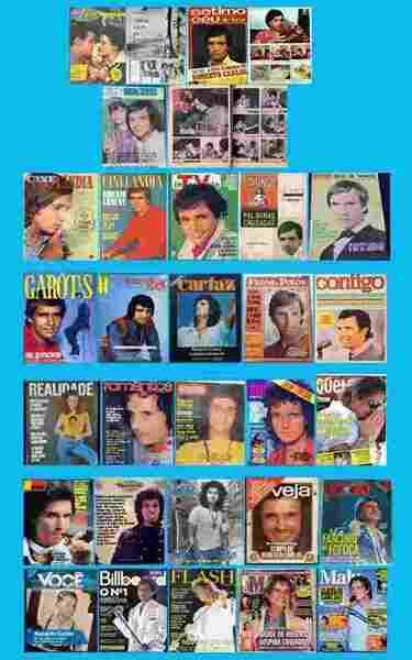 O número das revistas em que Roberto Carlos esteve em suas páginas é incalculável.