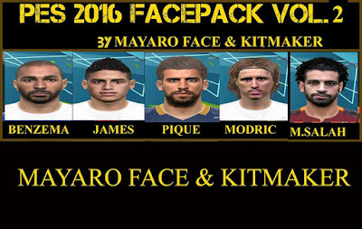 Facepack V2 by mayaro face & kitmaker
