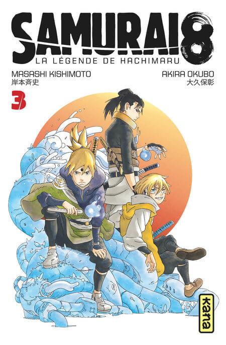 Samurai 8 - La légende de Hachimaru - tome 3