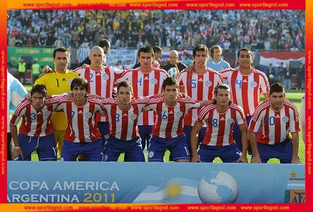 الباراجواي وصيفة البطولة