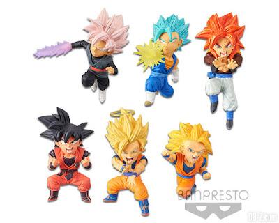 World Collectable Figure Dragon Ball Super SAIYANS BRAVERY vol.1