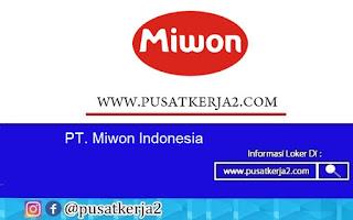 Lowongan Kerja SMA SMK D3 S1 PT Miwon Indonesia Agustus 2020
