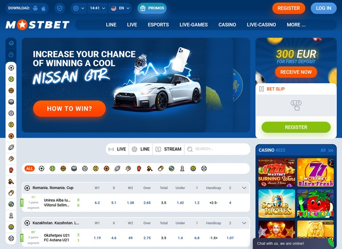 Mostbet Bets