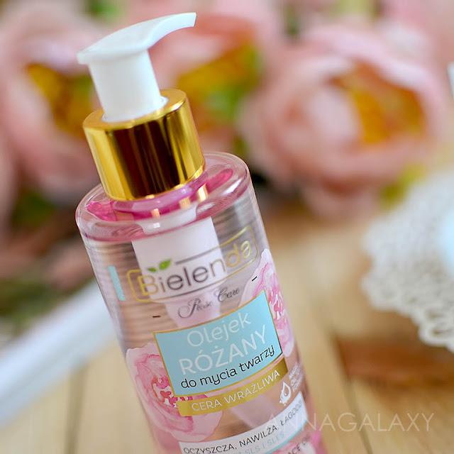 Дозатор Розовое масло для умывания Bielenda Rose Care Cleansing Face Oil