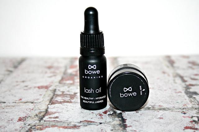 Bowe Organics Lash Oil and Lip Rescue Balm Review