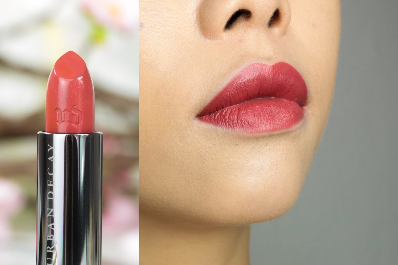 Urban Decay Vice Lipstick Hitchhike Avis et Swatch