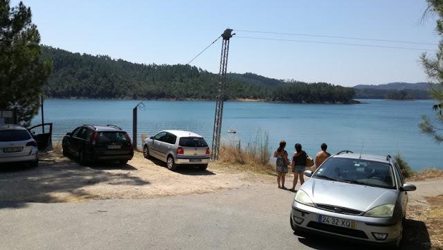 Parque de Estacionamento com vista para a Barragem