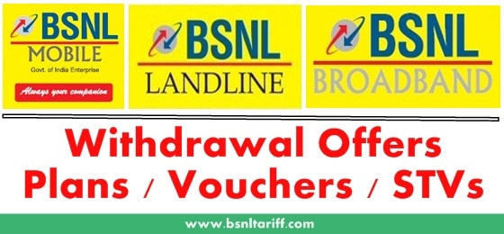 BSNL offers new benefits to Postpaid users by withdrawing plans 725 and 149