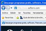 Interfaz gráfica de usuario del navegador Internet Explorer