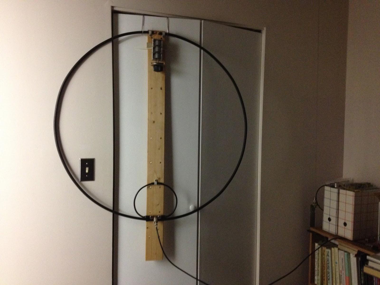 VA7LI: Magnetic loop antenna