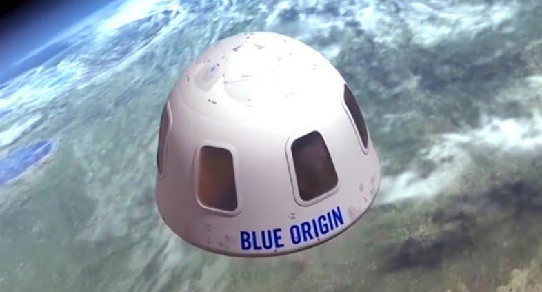 Colonizzazione pianeti e Viaggi spaziali, il piano di Amazon si chiama Blue Origin.