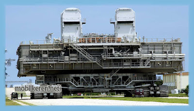 The mobile launcher platform, truk besar, mobil truck terbesar di dunia