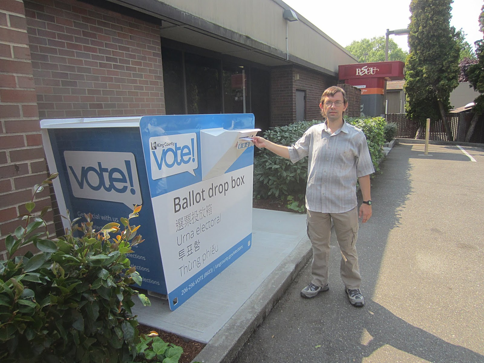 Как я первый раз проголосовал в американских выборах