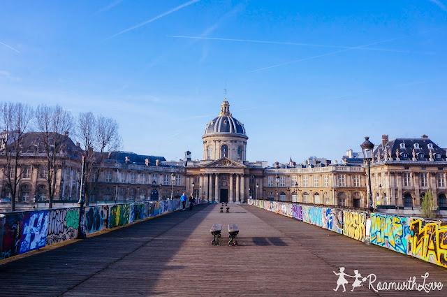 review, Honeymoon, france, Paris, รีวิว, ฝรั่งเศส, ฮันนีมูน, pont des arts